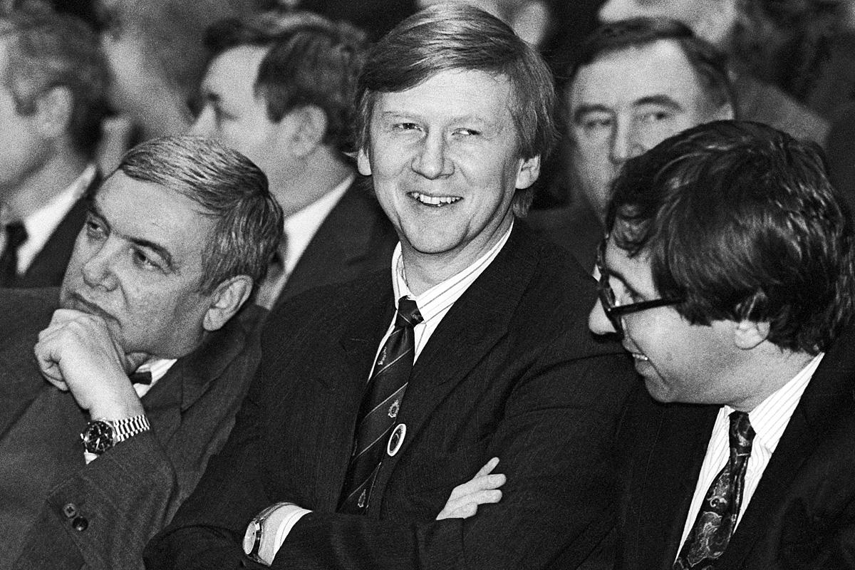Некоторые из будущих «младореформаторов», конец 1970-х гг.